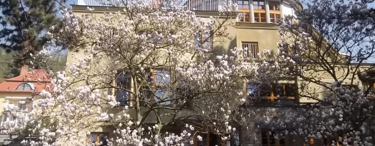 Zahrada Brabcovy vily - Praha Troja