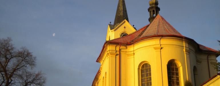 Kostel sv. Václava - Mníšek pod Brdy