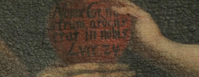 Obraz sv. Josefa s dítětem - Dobratice