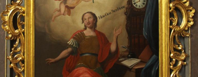 Oltář, boční sv. Expedita - Dobratice