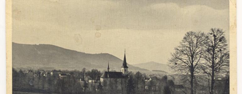 Obraz sv. Jana Nepomuckého - kostel sv. Filipa a Jakuba - Dobratice