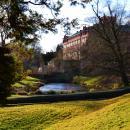 Záblesky jara v zámeckém parku
