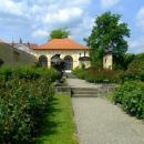 Růžová zahrada-zámek Děčín