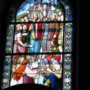 Vitráž v kapli