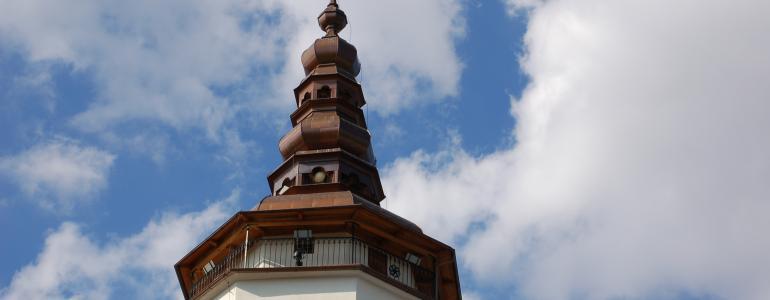 Věž kostela sv. Mikuláše - Bílovec