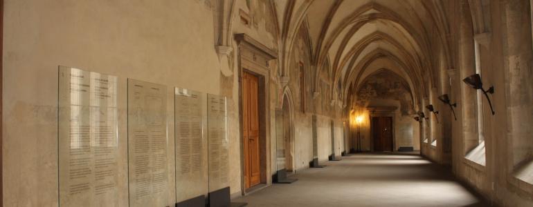 Benediktinské opatství Panny Marie a sv. Jeronýma v Emauzích - Praha 2