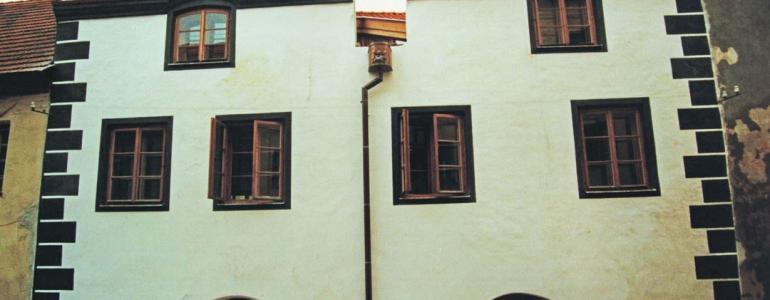 Měšťanský dům č.p.161 - Galerie Neumannka - Prachatice