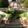 Gardens below Prague Castle - Historical green vegetation ...